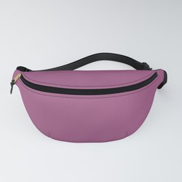 Rich Warm Berry Pink - Solid Plain Block Colors - Spring / Summer / Fall / Autumn Colours / Deep Magenta  Fanny Pack