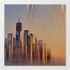 Freedom Tower Fantasy Canvas Print