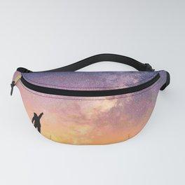 Star catcher galaxy Fanny Pack