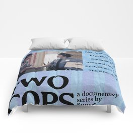 Two Cops Movie Poster Comforters