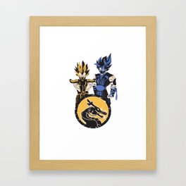 Dragon Ball Kombat Framed Art Print