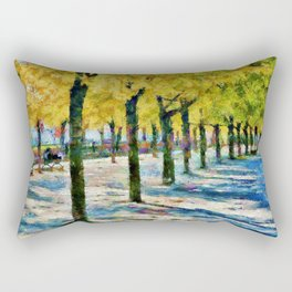 Along de la Commune Rectangular Pillow