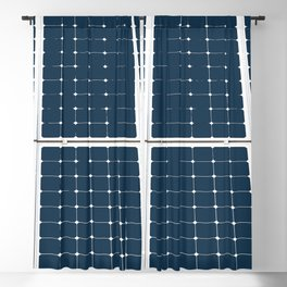 Image Of A Solar Power Panel. Free Clean Energy For Everyone Blackout Curtain
