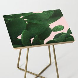 Cactus On Pink Side Table