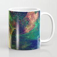 blanket Mugs featuring Blanket of Stars 2 by Klara Acel