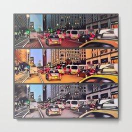 nycArt streets Metal Print