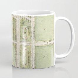 Jardin Public Champs Elysees byCharles Motte (1785-1836) Coffee Mug