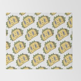 Taco Buddy Throw Blanket