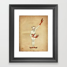 Death Jester Framed Art Print