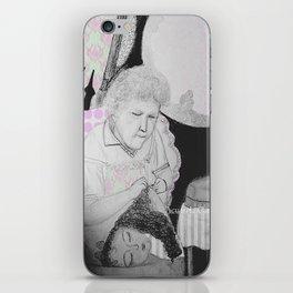 old woman iPhone Skin