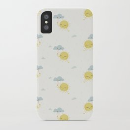 Little Sun white iPhone Case