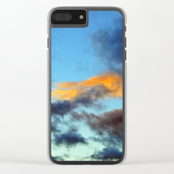 Fishy Cloud Glows in the Sky Clear iPhone Case
