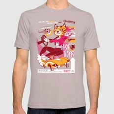 Easy Tiger Mens Fitted Tee SMALL Cinder