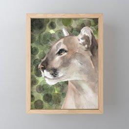 Puma Framed Mini Art Print