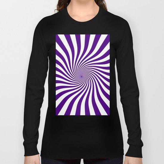 Swirl (Indigo/White) Long Sleeve T-shirt