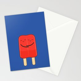 popsicles (stick together) Stationery Cards
