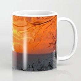 Fluid sunset Coffee Mug