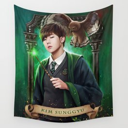 Slytherin SungGyu Wall Tapestry