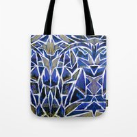 cracked Tote Bags featuring Cracked by Lachlan Willis