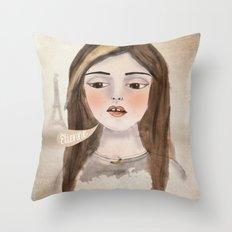 Anna Banana Throw Pillow