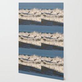 Between The Waves Wallpaper