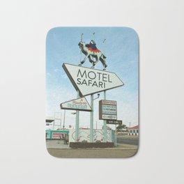 Route 66 - Motel Safari Bath Mat