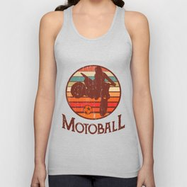 Motoball Retro Vintage Dirt Bike Gifts For Bikers Unisex Tank Top