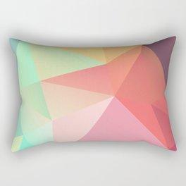 geometric V Rectangular Pillow
