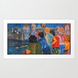 """View of Cadiz"" Art Print"