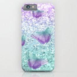 Mermaid Butterfly Glitter Dream #2 #shiny #decor #art #society6 iPhone Case