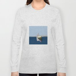May: a Heart Soaring in the Bay - shoes story Long Sleeve T-shirt