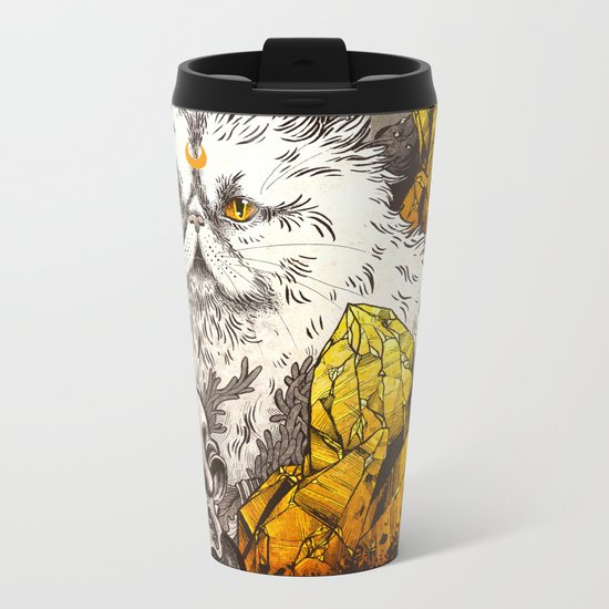 Witchcraft Metal Travel Mug