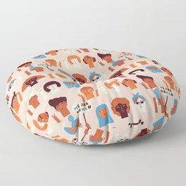 Women day Floor Pillow