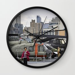 Happy Travels Wall Clock