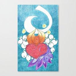 Space Tadpoles Canvas Print