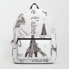 Paris Girl Backpack