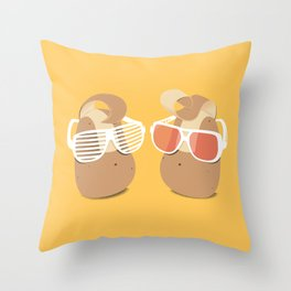 Cool Potatoes Throw Pillow