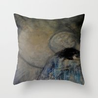 imagerybydianna Throw Pillows featuring dreaming in tennyson's tower by Imagery by dianna