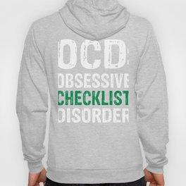 OCD: Obsessive Checklist Disorder Hoody