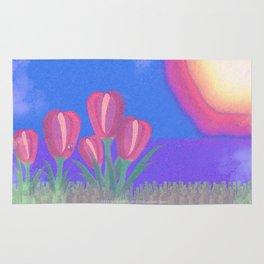 FLOWERS IN THE SUN V3 - 023 Rug