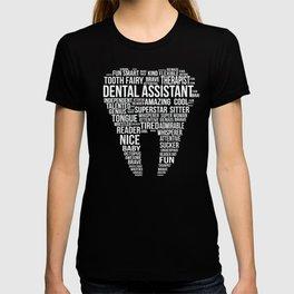DA Word Cloud Dental Assistant T-shirt