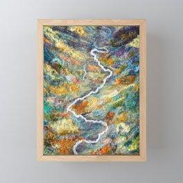 Remote Valley in Alaska Framed Mini Art Print