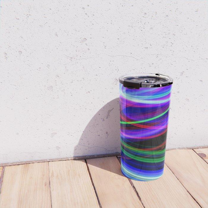 Disco Lights Travel Mug