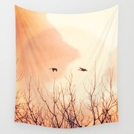 Flying Free Wall Tapestry