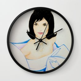 Jacqueline Kennedy Onassis Wall Clock