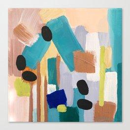 Dusty Quartz Abstract Canvas Print
