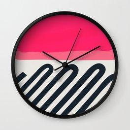 Candy Floss Bubble Gum Wall Clock