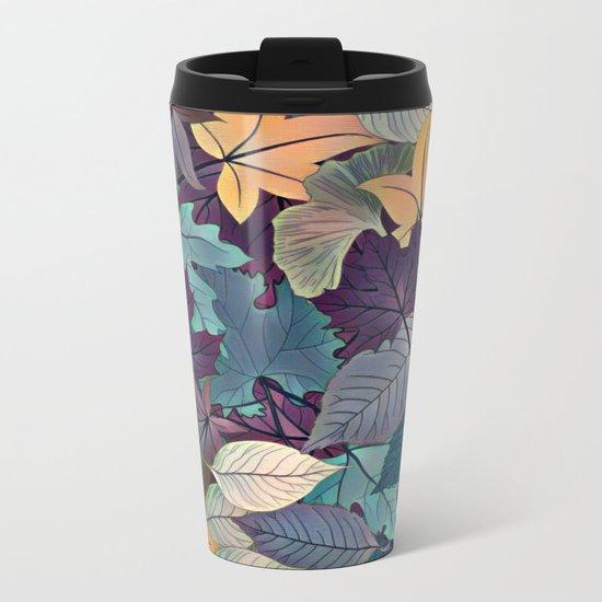 Leafy Goodness Metal Travel Mug