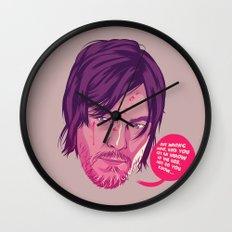 The Walking Dead - Daryl Dixon Wall Clock