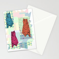 Cute little bears Stationery Cards